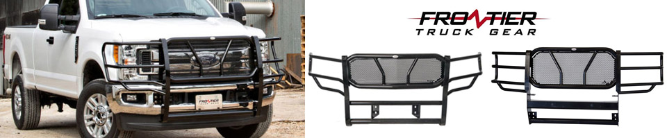 Frontier Truck Gear Grille Guards in Lubbock, Texas