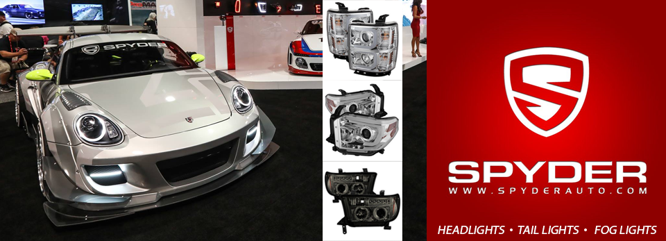 Spyder Projector Lamps, Head Lights, Tail Lights and Fog Lamps at Accessory Depot in Lubbock, TX