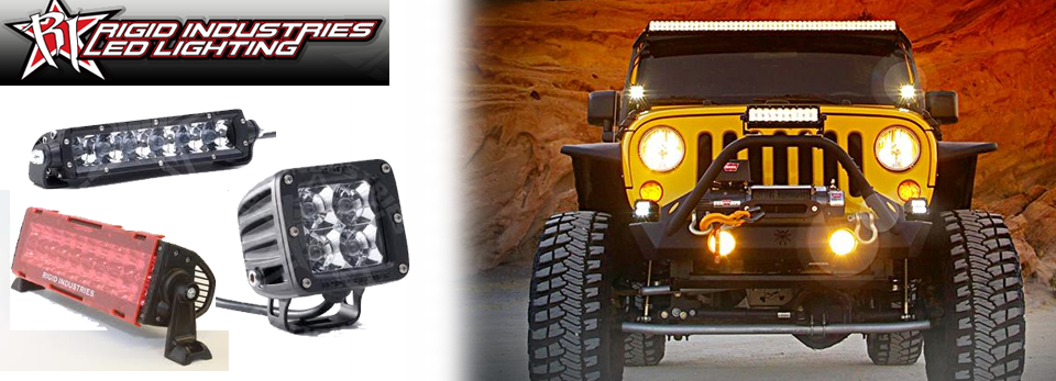 Rigid Lights for Trucks, SUV's and Jeeps. At Accessory Depot in Lubbock, TX!!