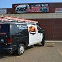 ladder-rack-van-geek-squad-truck-accessory-lubbock-july-2013-1